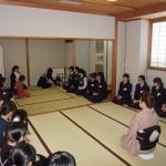 裏千家淡交会学校茶道研修会が開催されました。